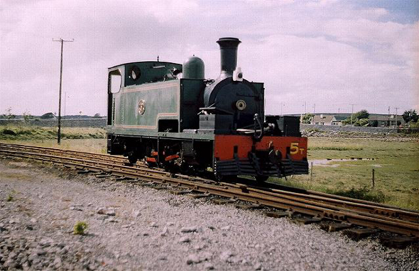 Blennerville Railway Engine (narrowgauge.nl)
