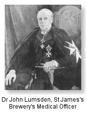 Dr John Lumsden (later Sir) founder of St John Ambulance (stjohndublin.ie)