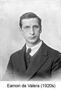Eamon de Valera in the early 1920s